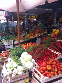 fresh produce stand by our flat, went here every day