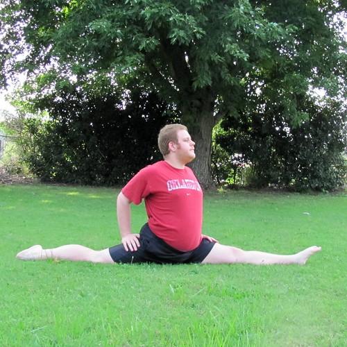 Summer '13 Stretching: Forward Split