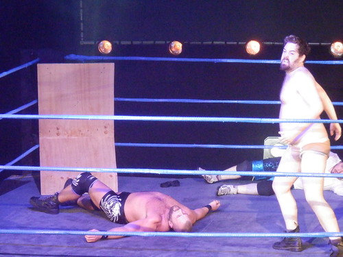 The Wrestling II @ Edfringe13: Nick's Back!