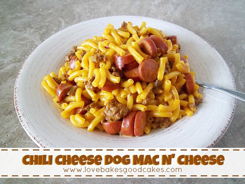 Chili Cheese Dog Mac N' Cheese