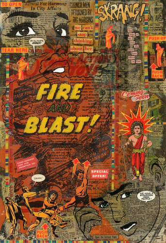 Fire and Blast by What Would Jesus Glue?