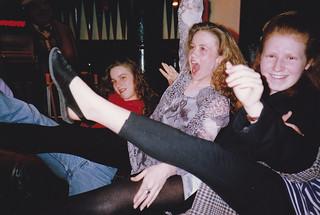 last night party at Fat Sams, Wizard of Oz, June 1991