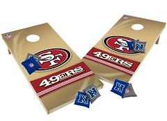 San Francisco 49ers Custom Cornhole Boards XL