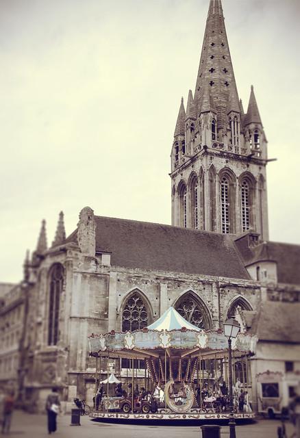 Caen - town
