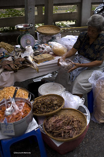 Image of  China town. food chinatown bangkok streetscene vendor streetvendor driedfish eos5d saltedfish ef35mmf20 foodtourism