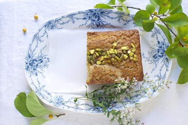 vert plated cake