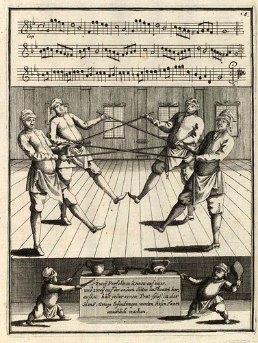 004- Neue und curieuse theatrialische Tantz Schul…1716- Gregory Lambranzi-Biblioteca Digital Hispanica