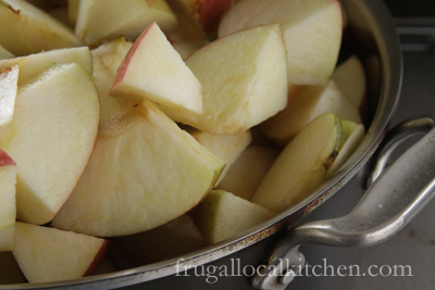 Cooking with Kids: Applesauce