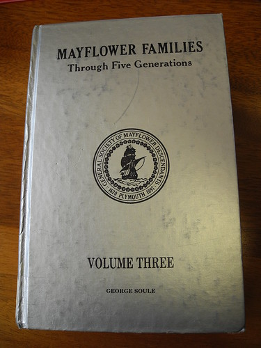Mayflower Families Through 5 Generations Vol. 3 by midgefrazel