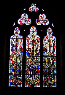 Milton Abbas. East Window
