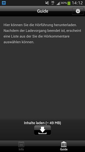 Screenshot der Download-Aufforderung