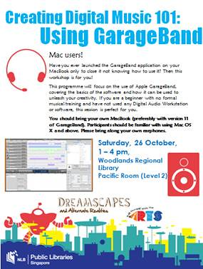 2013 Creating Digital Music 101 - GarageBand
