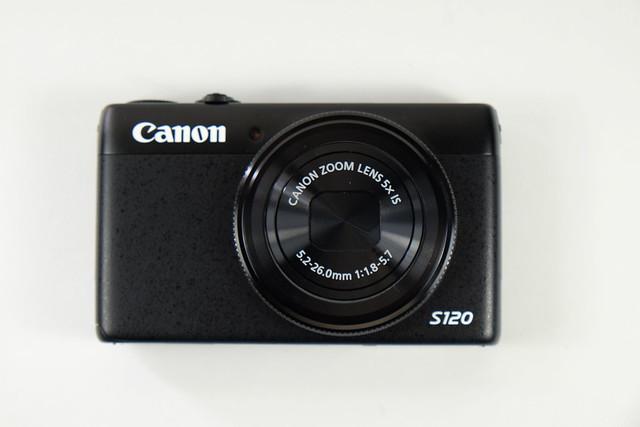 canon s120 開箱