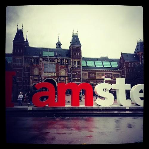 See you soon... #amsterdam  #isculpture #artgallery #sangimignano #tuscany