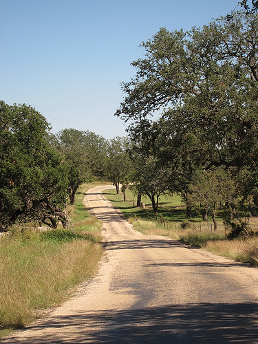 Hill Country road