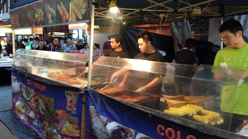 Chinatown Night Market: Grilling