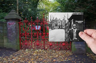 Strawberry Field Gates, Woolton, 1960s in 2013