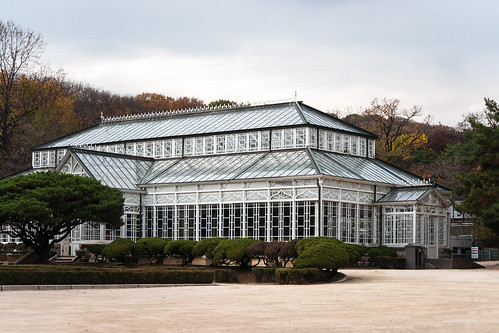 Greenhouse at Changgyeong Palace