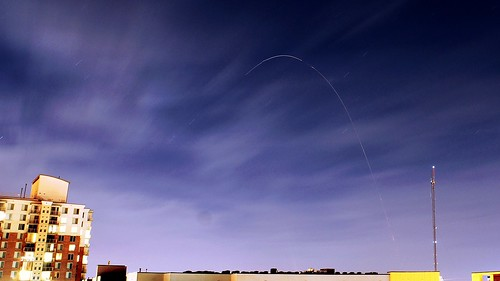 Orbital Sciences Minotaur 1 ORS3 Launch (cropped, enhanced)
