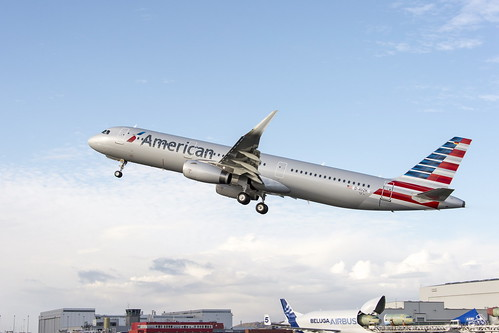 American Airlines first A321-T