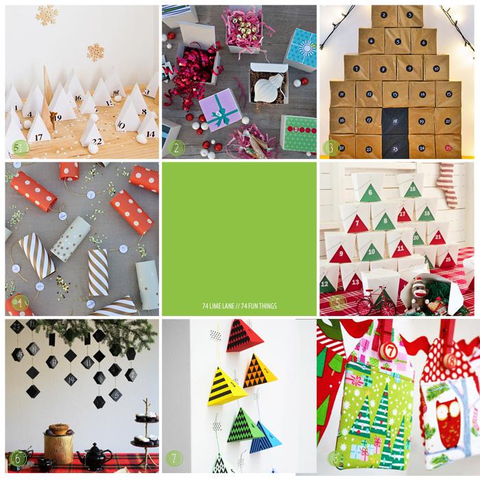 74 fun things // advent calendar edition