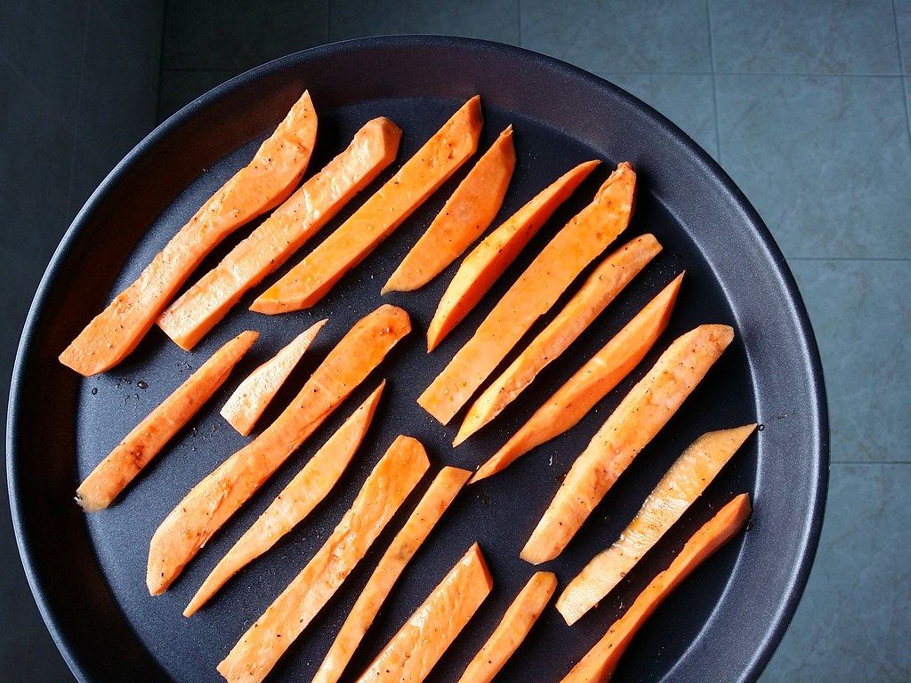 Samsung Smart Oven Brunch: Sweet Potato Fries