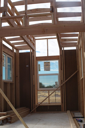 Day Seven: windows, framing faux-larium, some siding