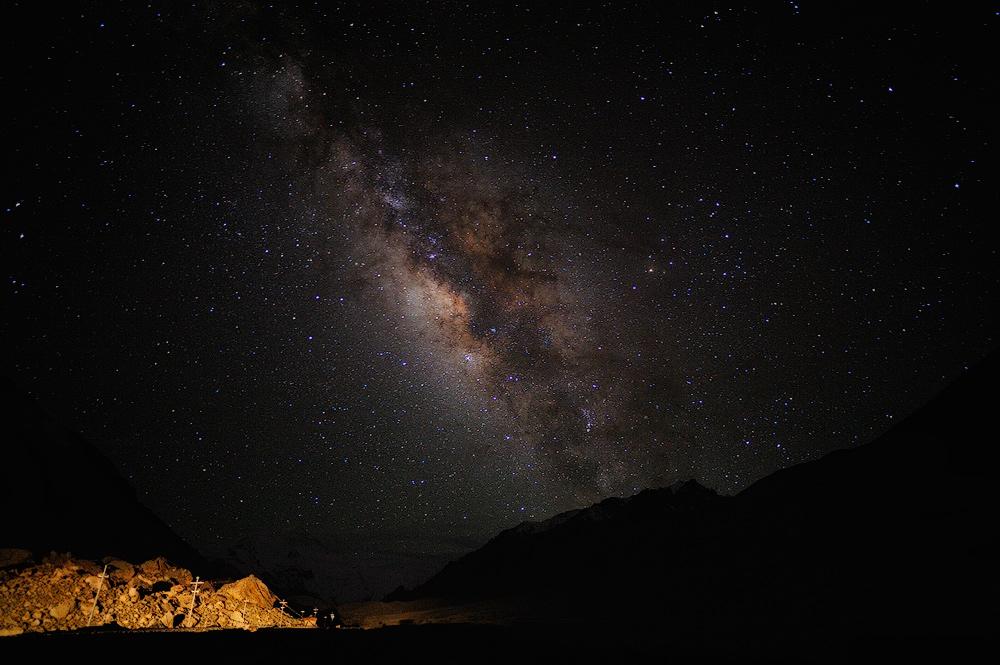 Млечный-путь-над-Эверестом