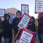 National Day of Strikes, Pickets, Protests by Community Health Systems RNs in Four States