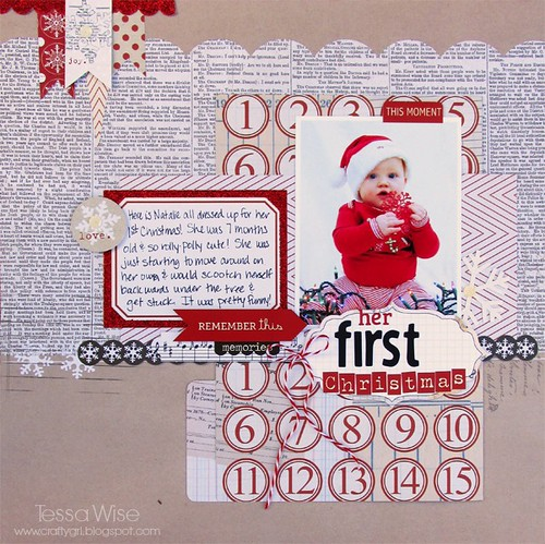 Natalie Christmas Layout 2