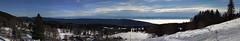 Panorama depuis la Vue-des-Alpes, canton de Neuchâtel, Suisse