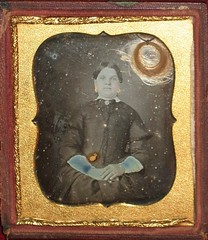 1/6th Plate Daguerreotype Of A Lady