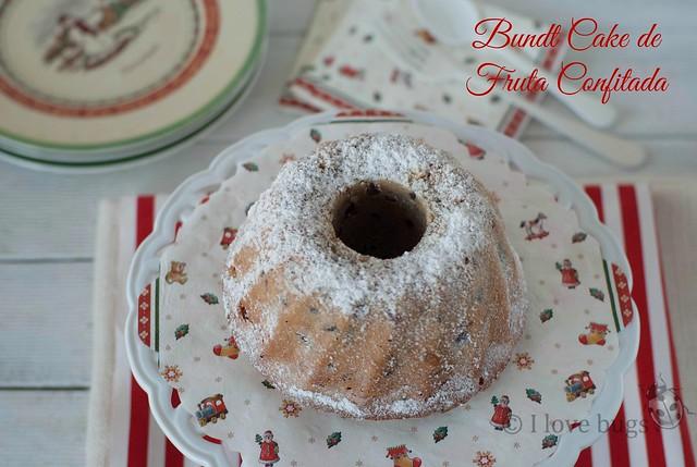 BUNDT CAKE de FRUTA CONFITADA: CALENDARIO de ADVIENTO DÍA 16