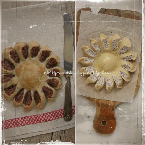 Pie di radicchio: fiore d'inverno