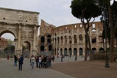 Colosseo e Arco di Costantino