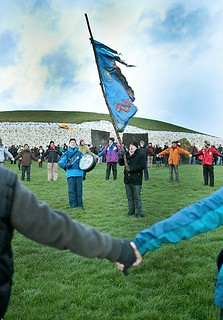 Winter Solstice celebration 2013, Newgrange, Ireland (1)