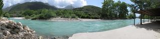 Greek river panorama