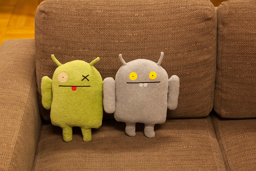 Uglydoll Android Ox and Babo