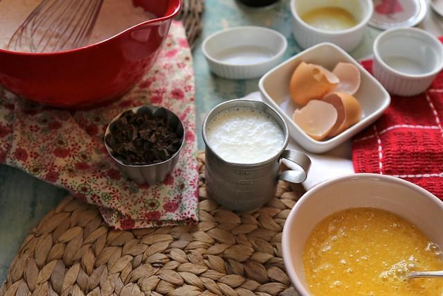 Chocolate Chip Buttermilk Waffles