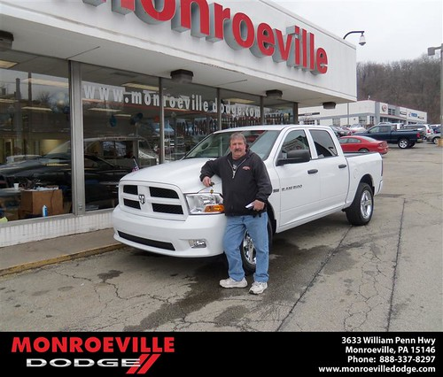 Happy Anniversary to Dennis Paul Kosmach on your 2012 #Dodge #Ram from Chad Carpenter  and everyone at Monroeville Dodge! #Anniversary by Monroeville Dodge