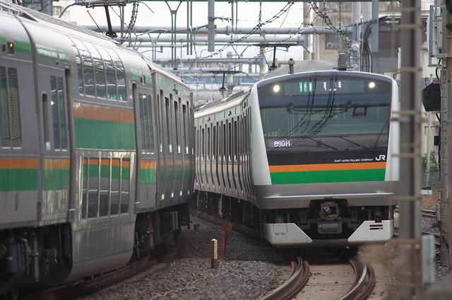 Tokyo Train Story 東北本線 2014年1月26日