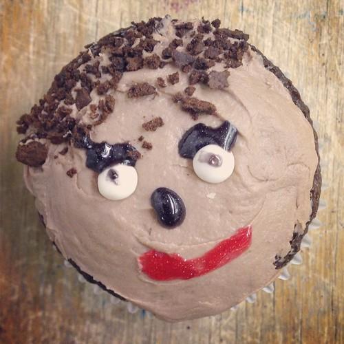 MLK cupcake!