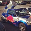 Spotted a red bull car!