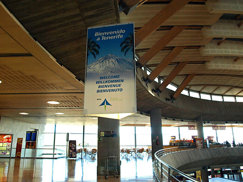 Welcome to Tenerife Norte Airport, Tenerife