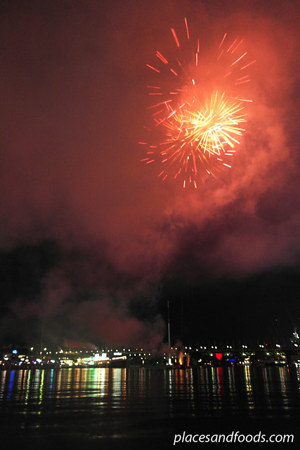 darling harbour orange fireworks