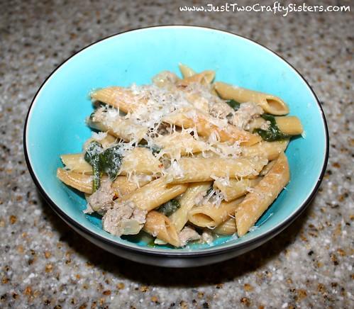 Skillet penne pasta recipe for dinner