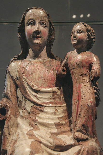 Seated Virgin and Child, 1340