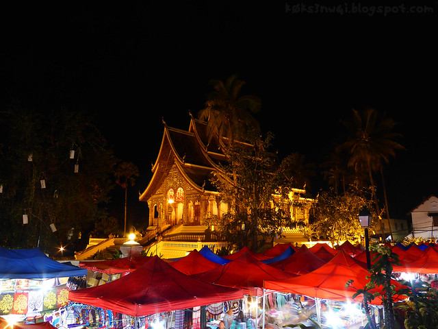 Haw Pha Bang and Handicraft Night Market