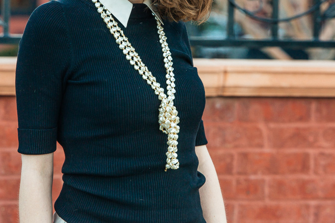 pearl necklace, never fully dressed, withoutastyle,