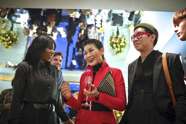 2014 MCM Feb Berlin 33 Sophia Lenore, Sung-Joo Kim, Christian Chevalier